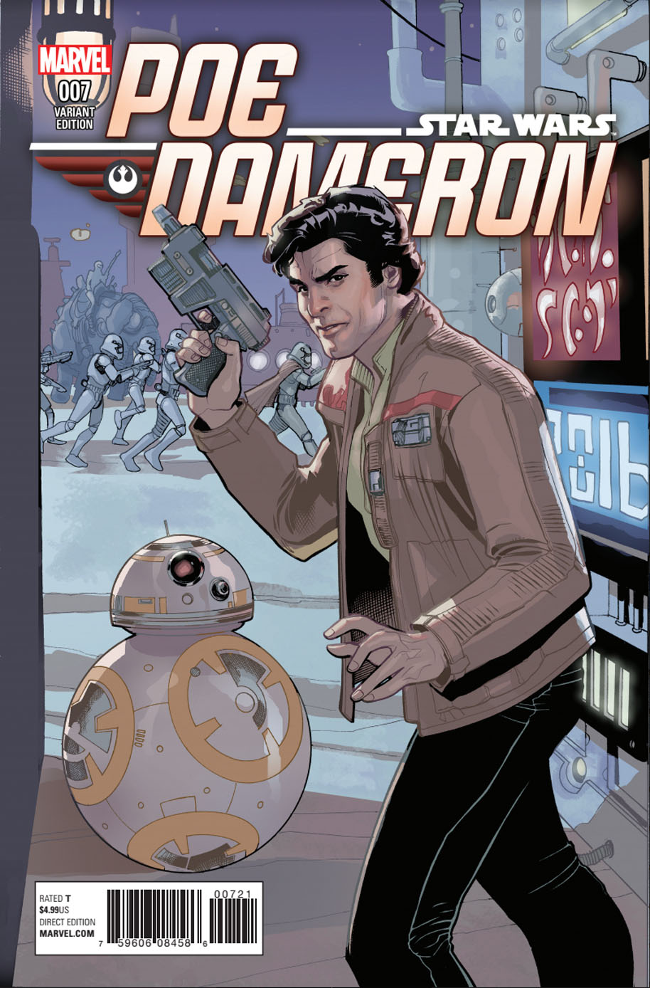 Star Wars Poe Dameron 7 Variant Cover 2