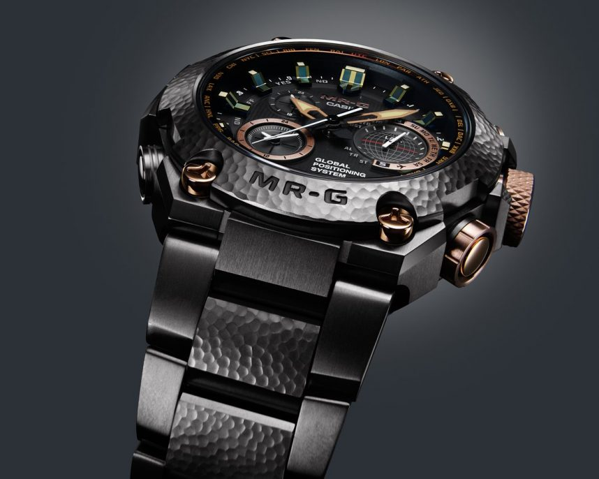 The G Shock Mr G Series is the highest line in the G Shock family. Photo courtesy of Casio.