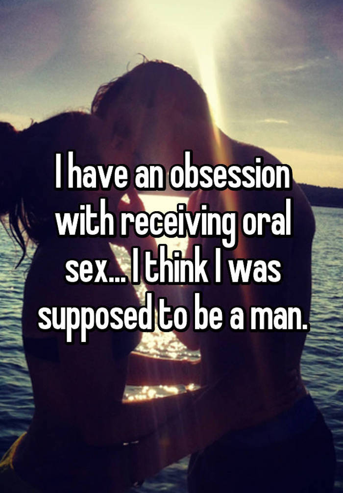 Girls who love receiving oral sex