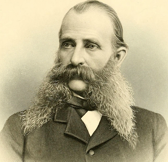 Benjamin Lyman Morrison of Ripley, Massachusetts, born in 1828. Courtesy of the Public Domain Review