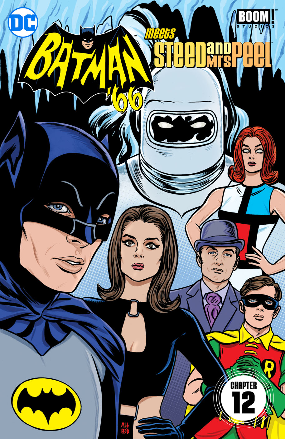 Batman 66 Meets Steed and Peel 12 cover
