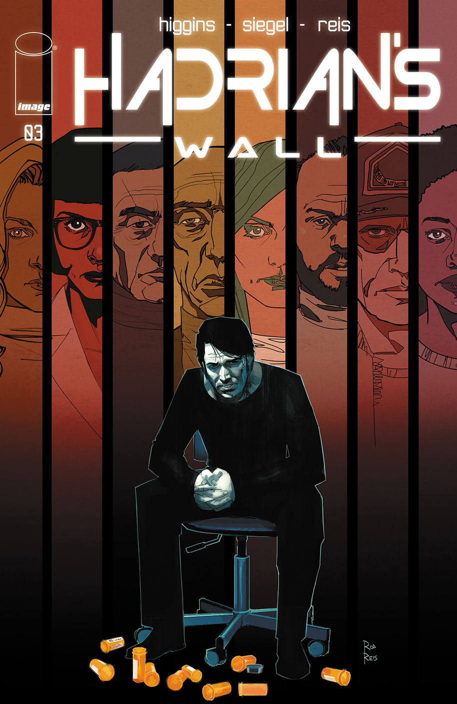 Hadrian's Wall 3 cover