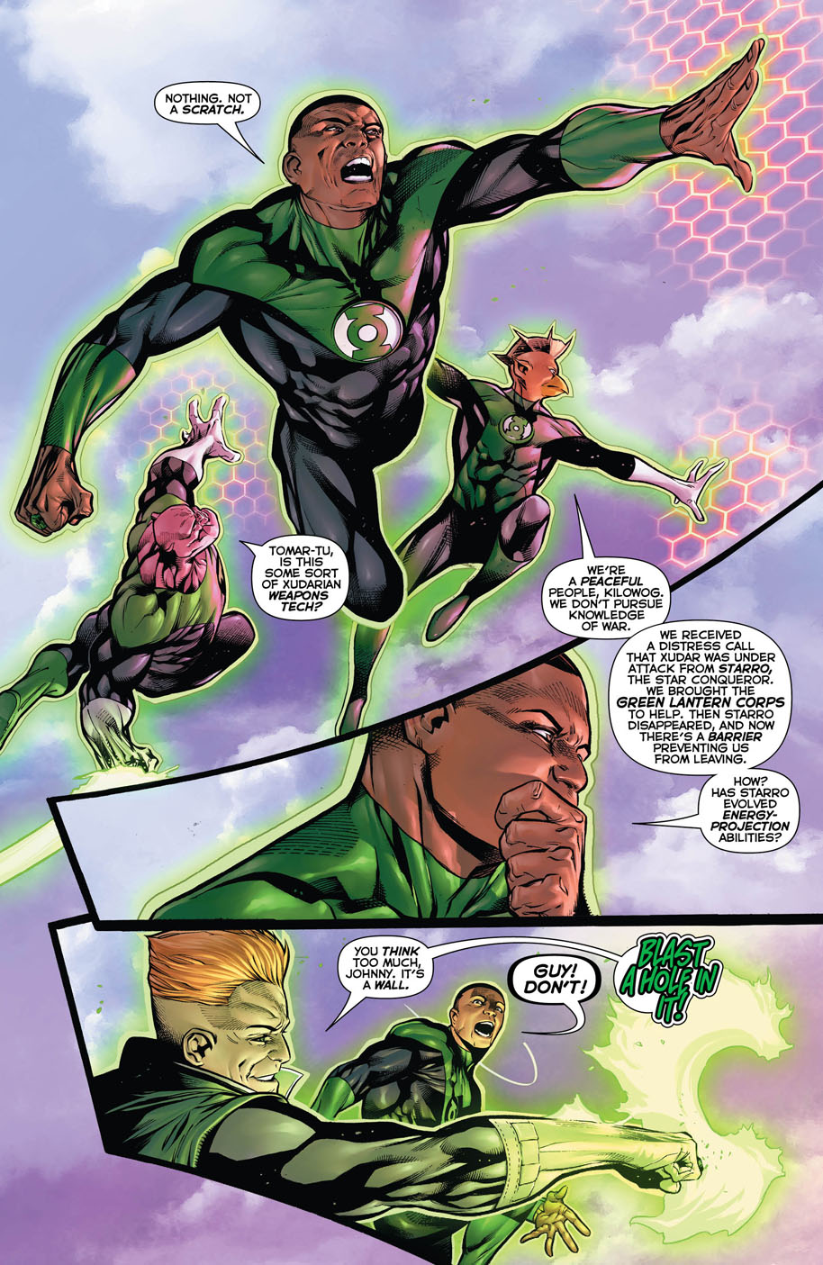 Hal Jordan and the Green Lantern Corps 9 page 2