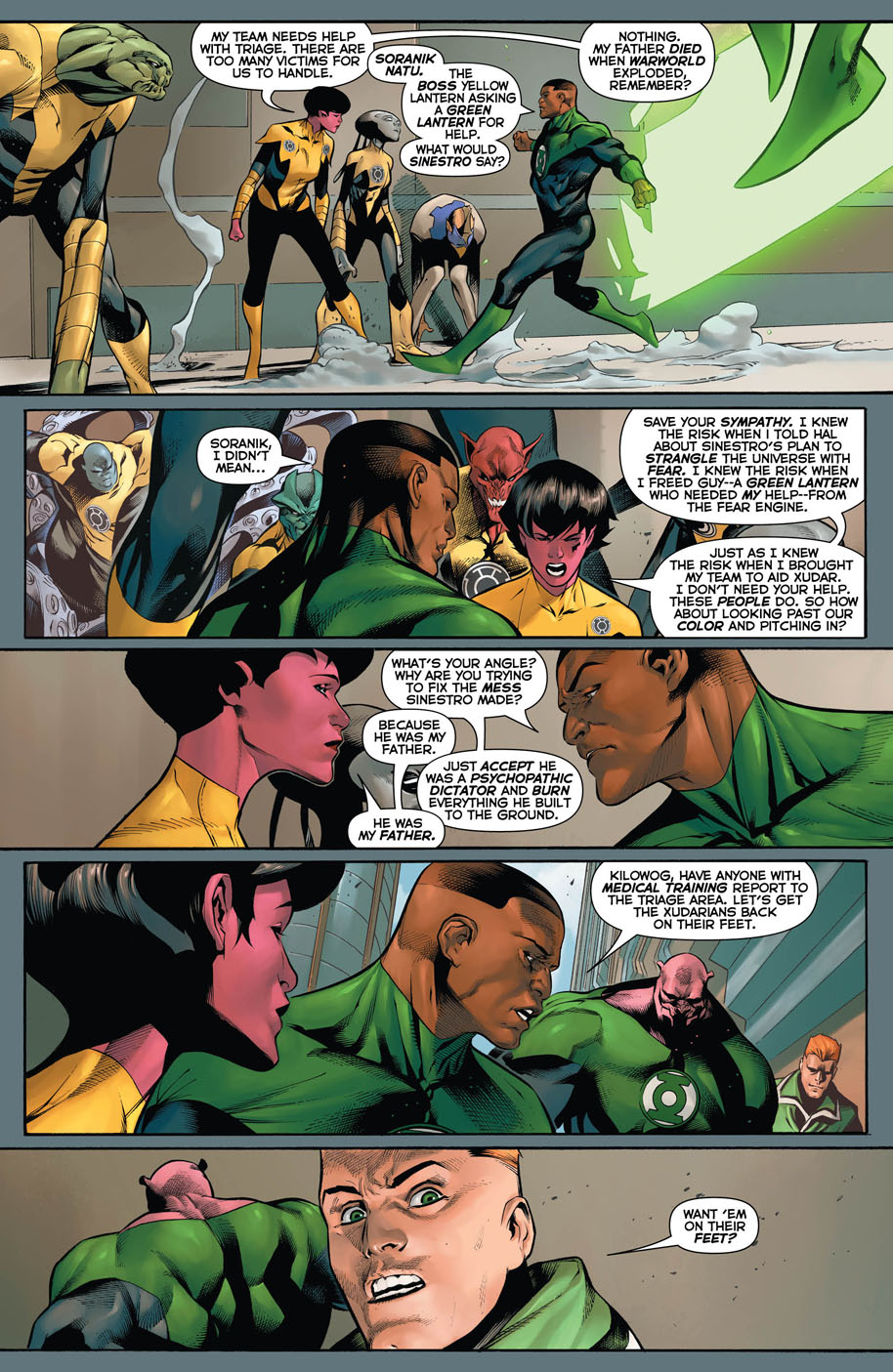 Hal Jordan and the Green Lantern Corps 9 page 5