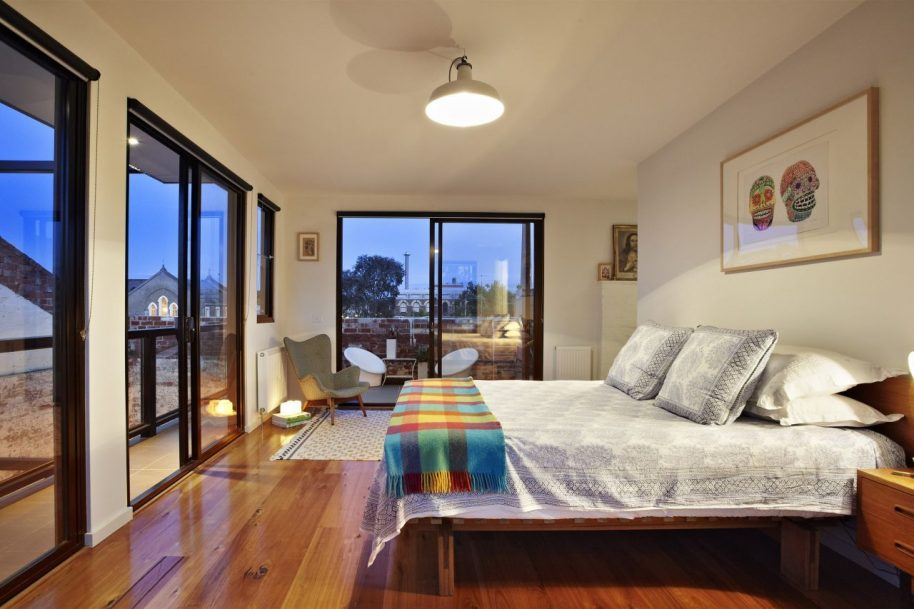 ITN's Abbottsford Warehouse Apartments are a pair of 3 story flats. Photo courtesy of ITN Architects.