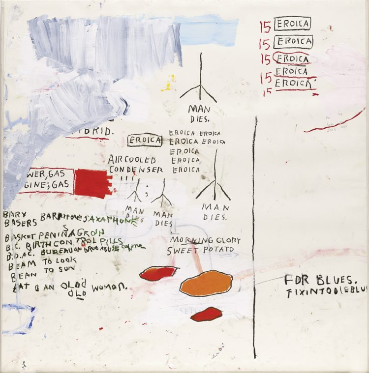 Jean Michel Basquiat Understood Words Are All We Have