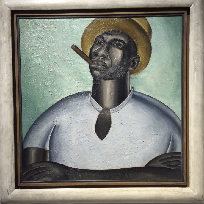 Everett Gee Jackson (1900-1995), Big Jim, about 1927. Oil on canvas, 23 ¾ x 23 ¾ in.