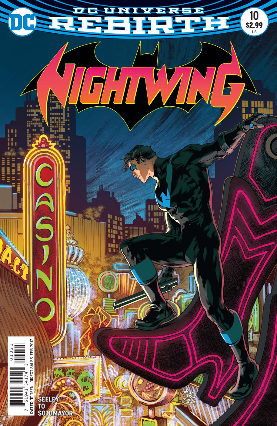 Nightwing 10 open order variant cover