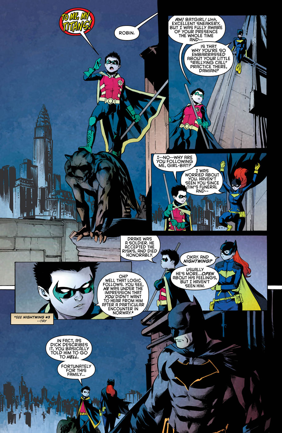 Nightwing 10 page 1