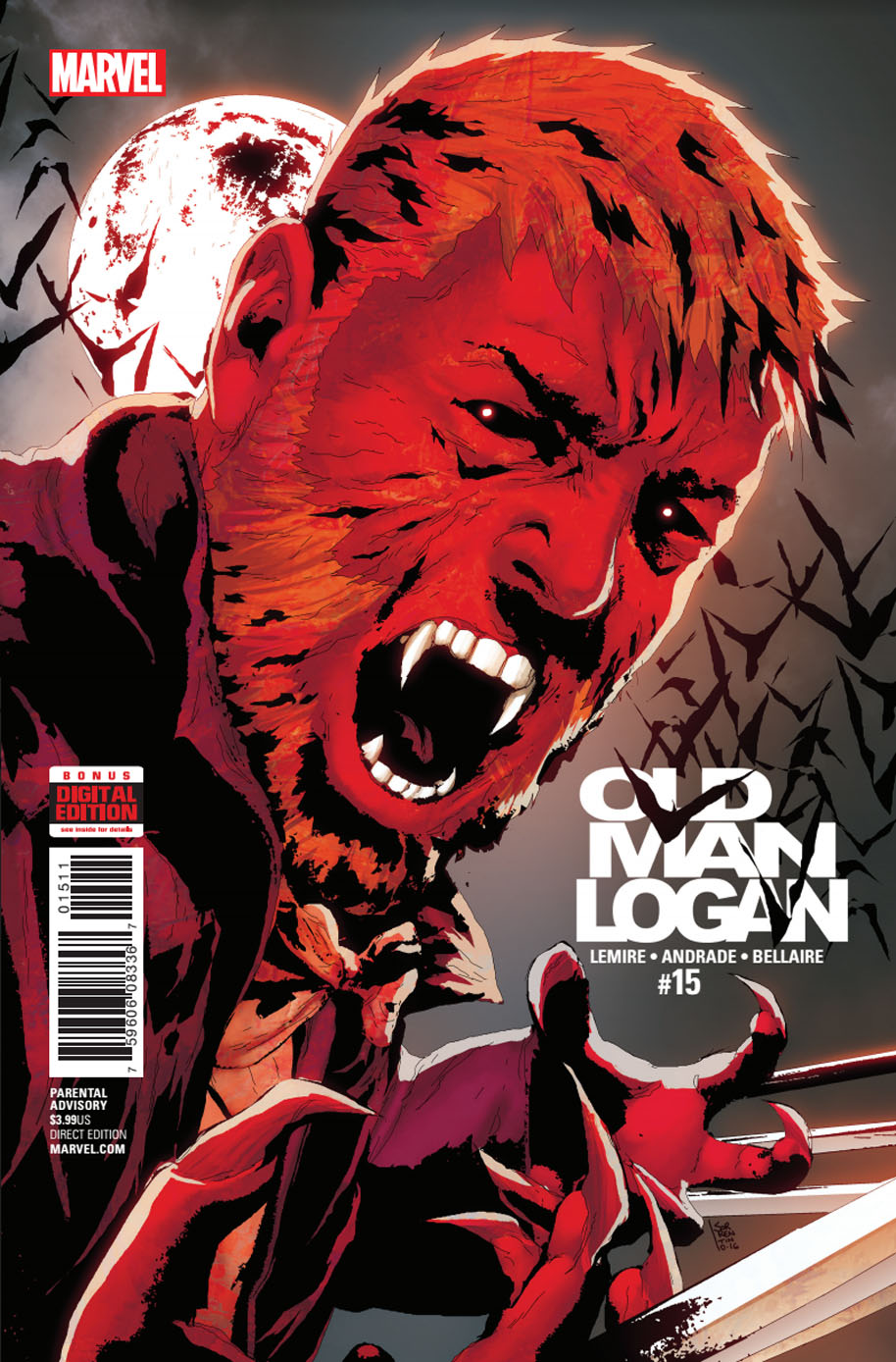Old Man Logan 15 cover