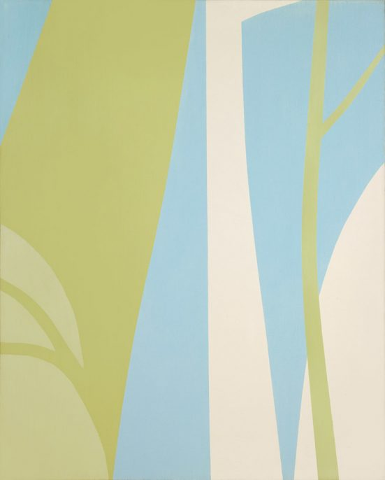 Helen Lundeberg, Untitled, 1962. oil on canvas. 30 x 24 inches (76.2 x 61 cm). ©The Feitelson / Lundeberg Art Foundation