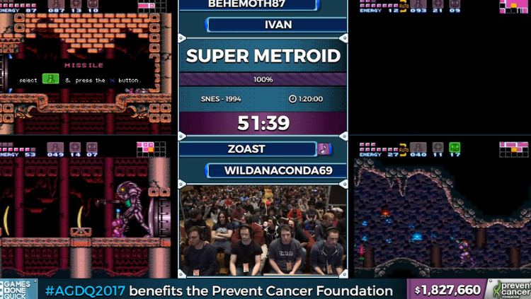 AGDQ 2017 Speedrunner Tells Audience Members to Prevent