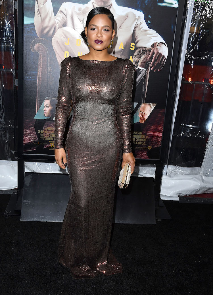 Christina Milian Completely Exposes Herself At Movie Premiere ... bc051c243
