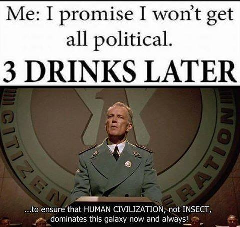 Starship troopers political memes