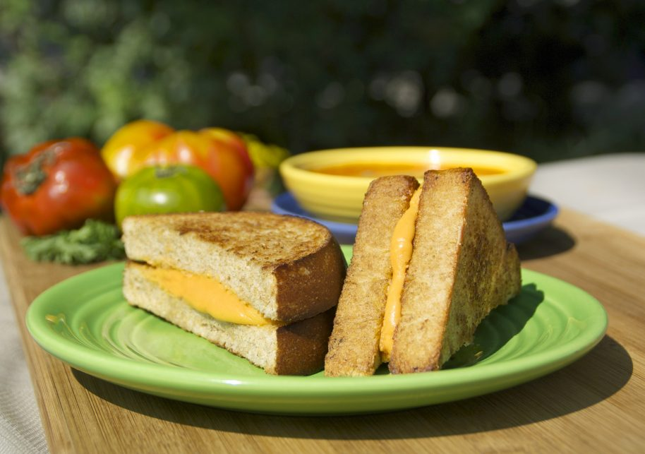 "Grilled ""Cheese"" with a Twist"