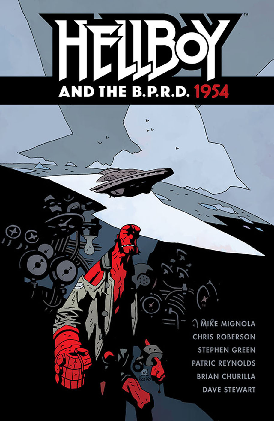 HellBoy and the BPRD 1954 TPB Cover Mockup