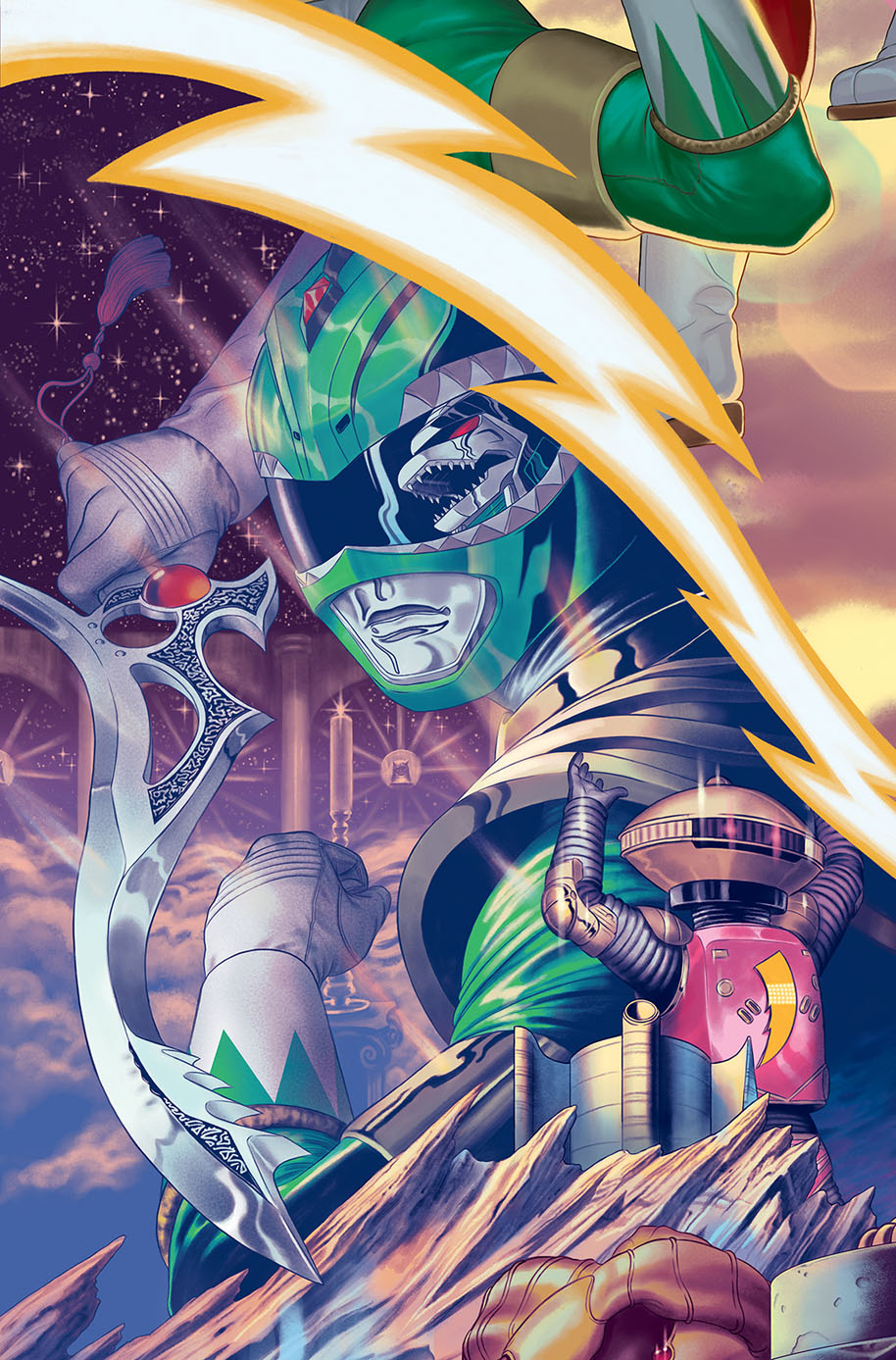 Power Rangers 16 D Connecting