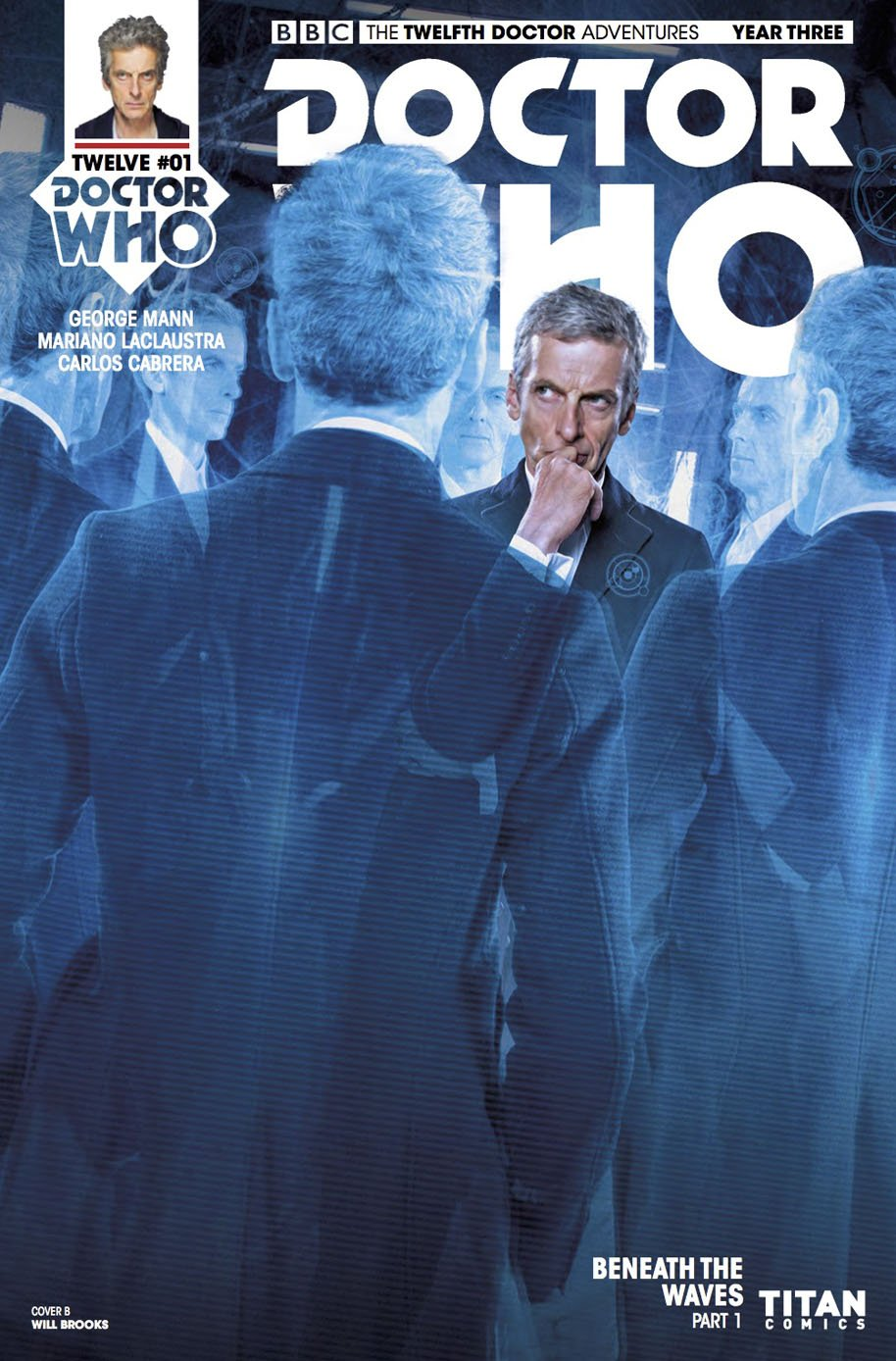 Doctor Who Twelfth Doctor Year Three 1 Cover B