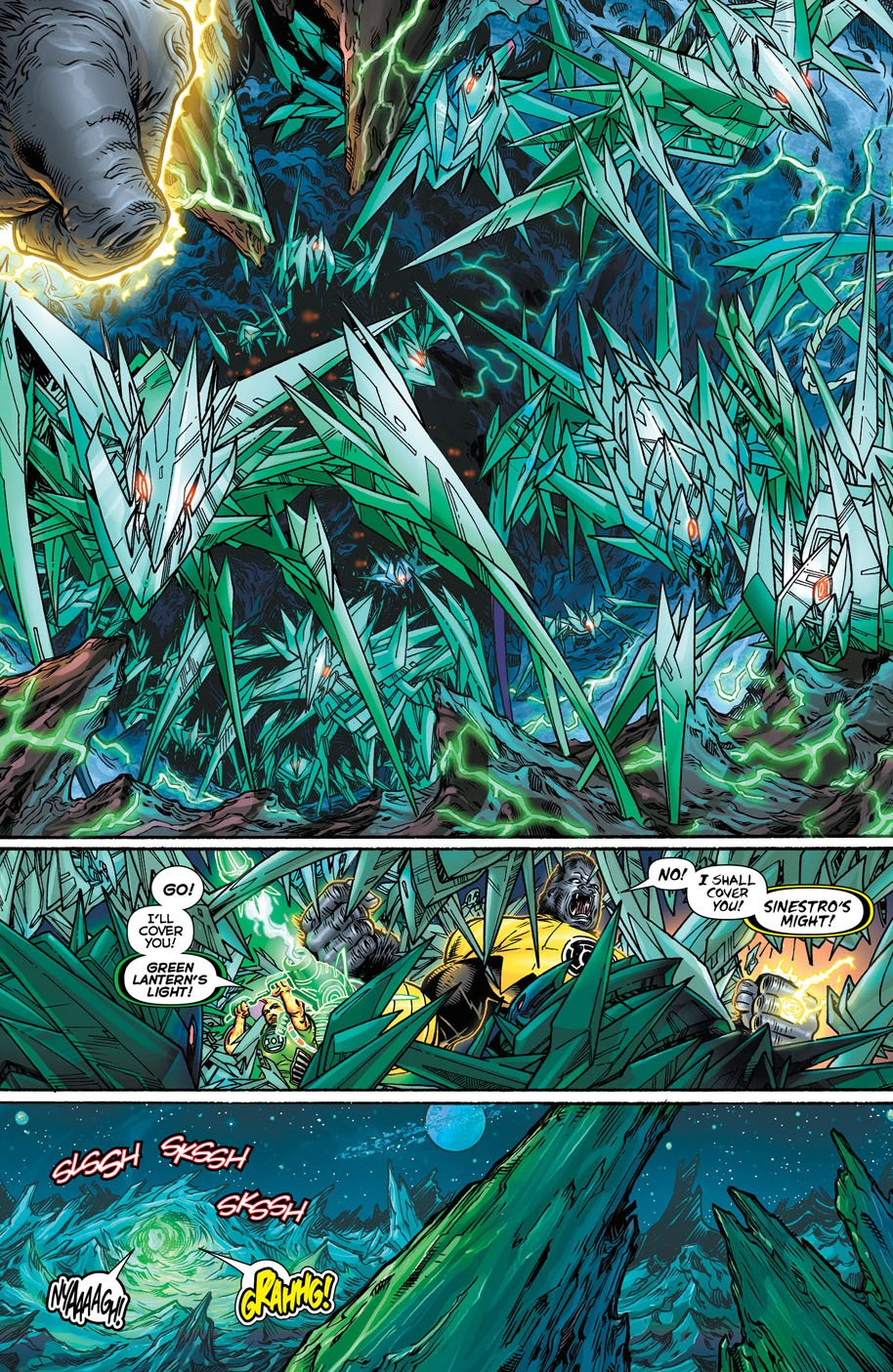 Hal Jordan and the Green Lantern Corps 18 page 4
