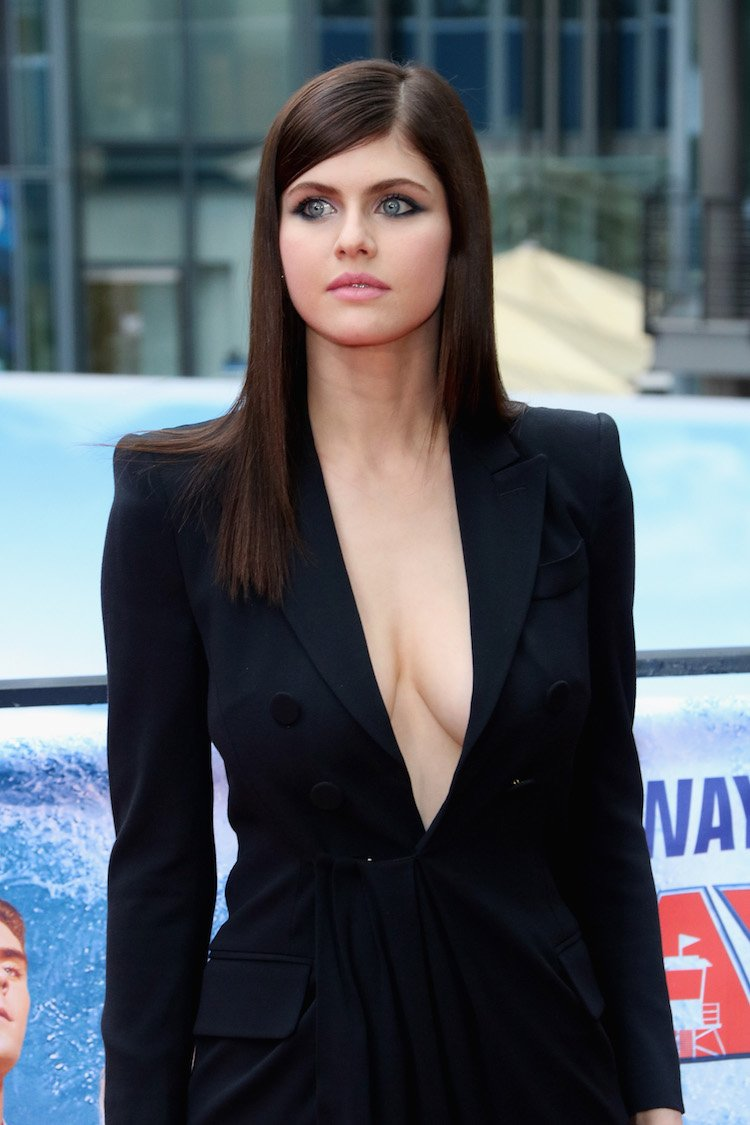 'Baywatch' Bombed But Alexandra Daddario Went Braless So There's That