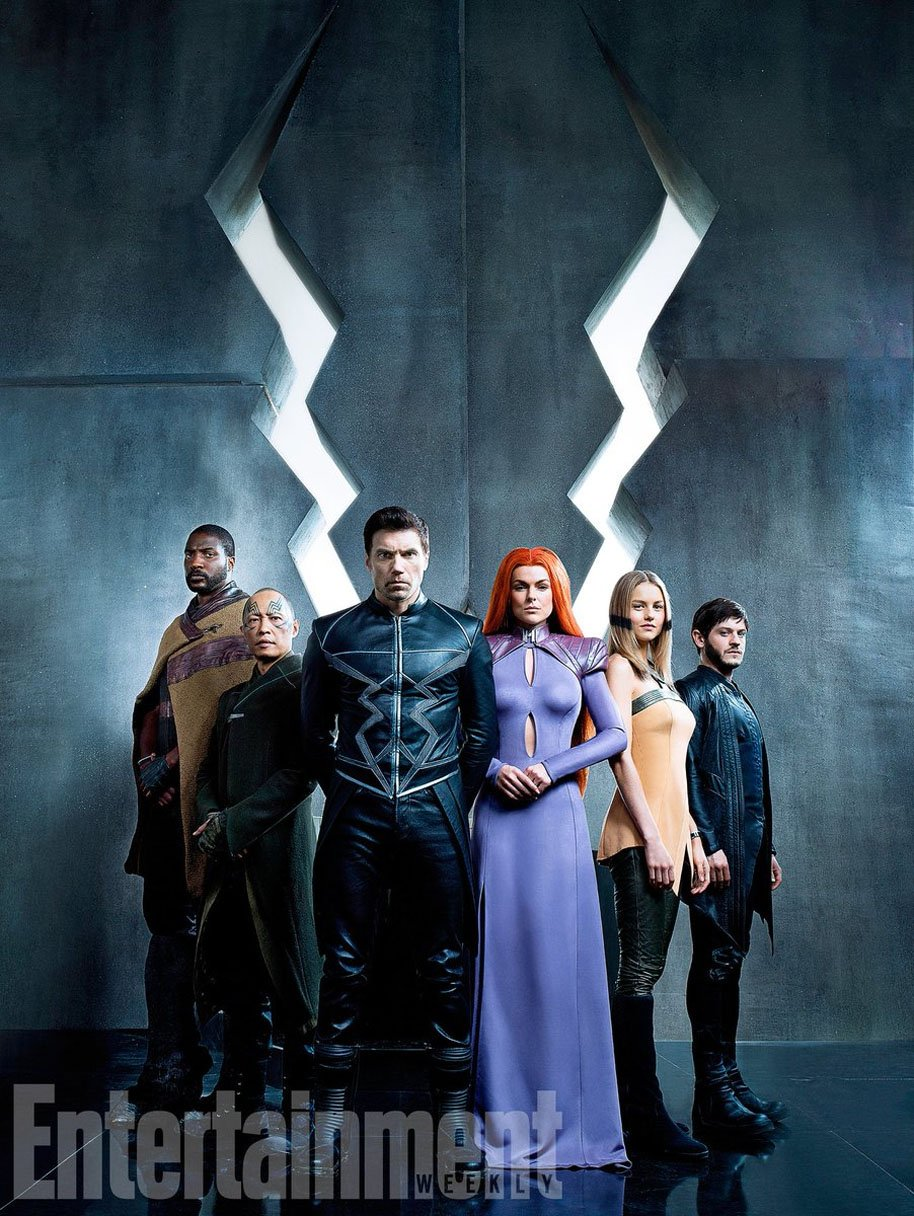 Inhumans cast first look