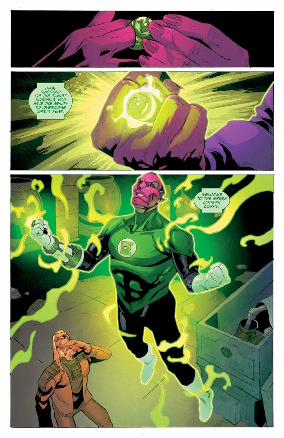 Planet of the Apes Green Lantern 4 page 8