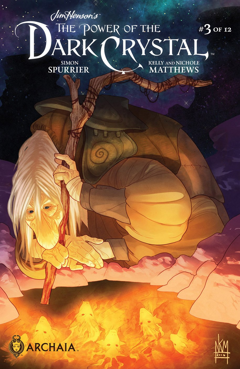 The Power of the Dark Crystal 3 cover a
