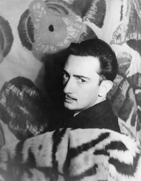 Salvador Dalí, 1939. Carl Van Vechten photograph collection. Library of Congress LOT 12735, no. 275, LC-USZ62-116608. Courtesy of Wikimedia Commons.