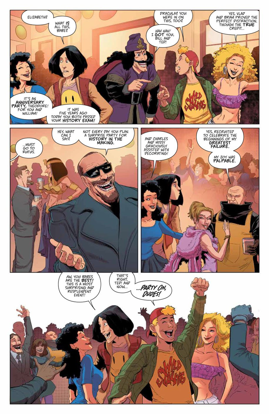 Bill & Ted Save the Universe 1 page 8