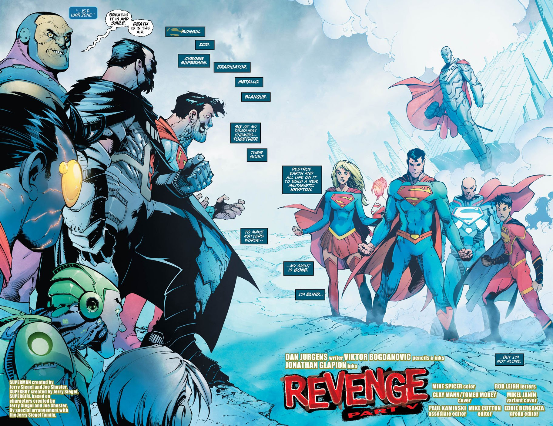 Action Comics 983 pages 2 and 3