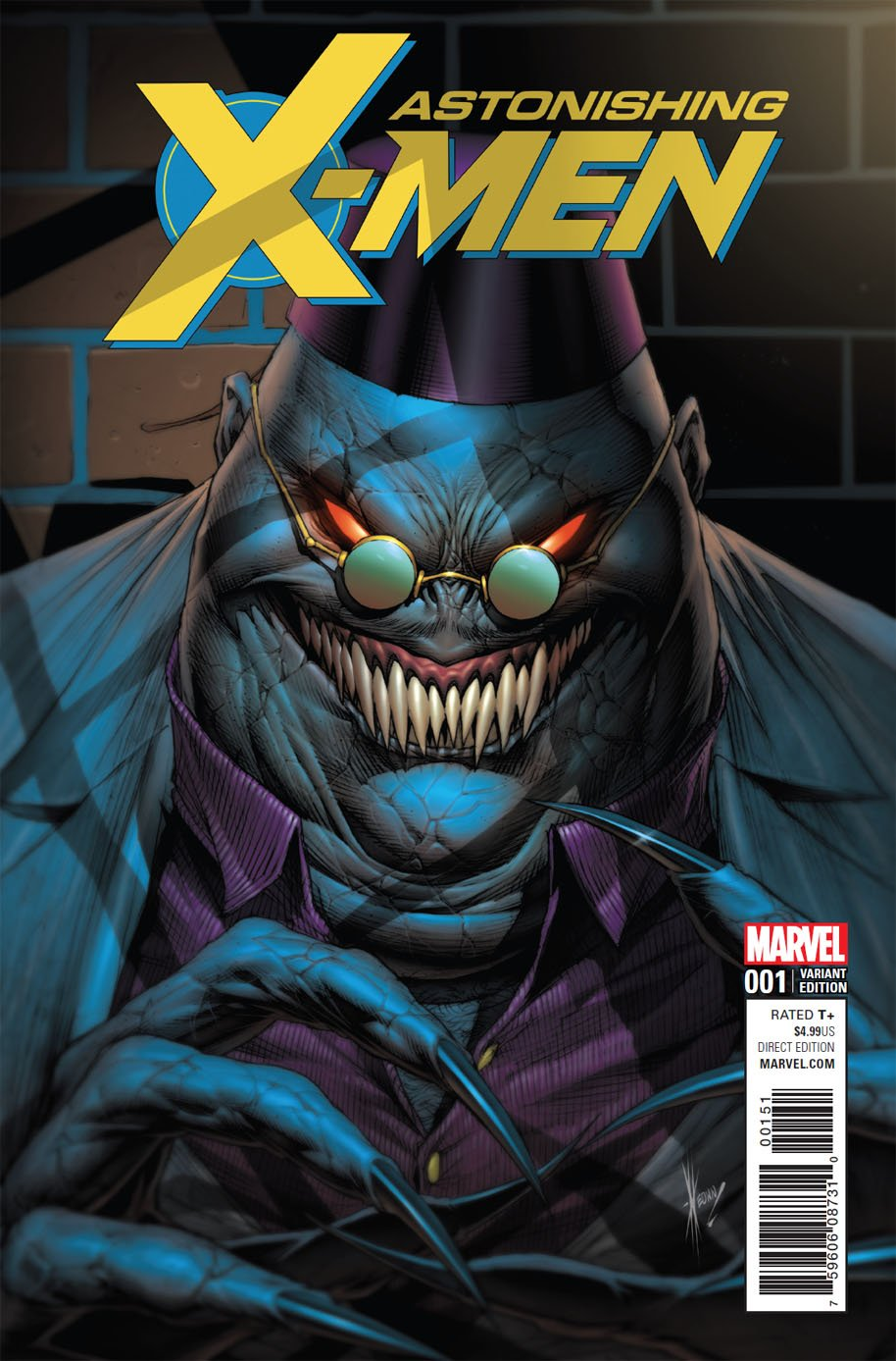 Astonishing X-Men 1 Shadow King cover