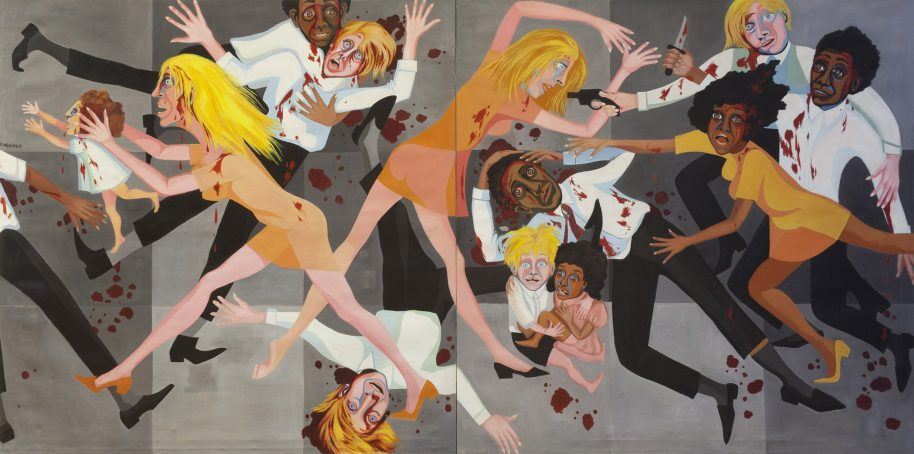 Faith Ringgold, American People Series #20: Die, 1967. The Museum of Modern Art, NY.