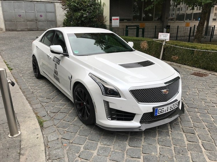 Ing The Autobahn In 2017 Cadillac Cts V Sedan