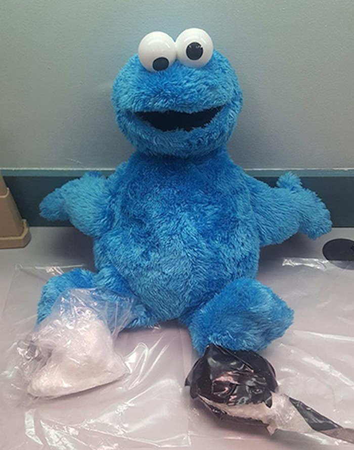 cookie monster concaine