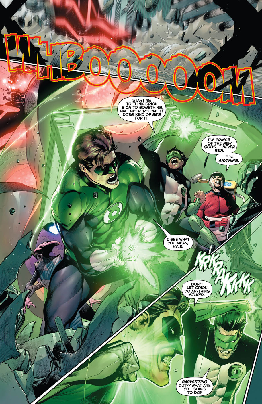 Hal Jordan and the Green Lantern Corps 27 page 2