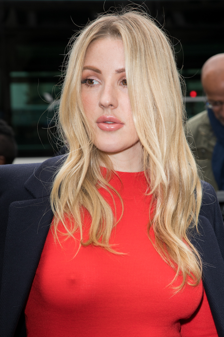 Ellie Goulding Decided On No Bra And It Was Totally Obvious-7736