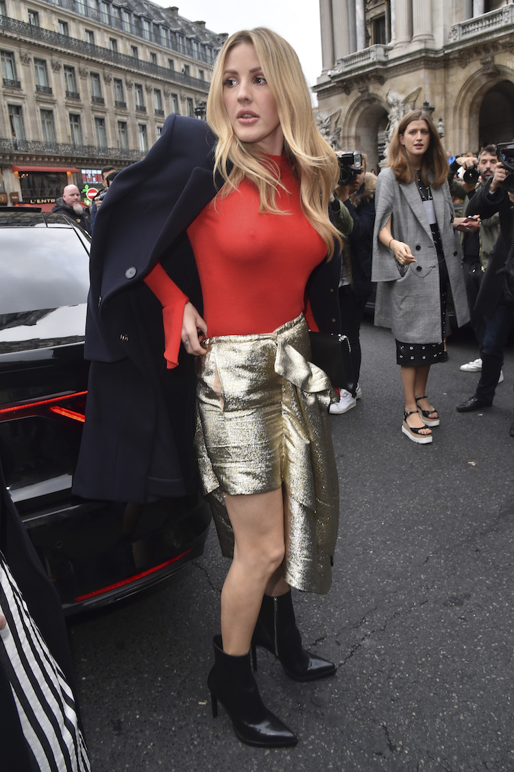 Ellie Goulding Decided On No Bra And It Was Totally Obvious-5178