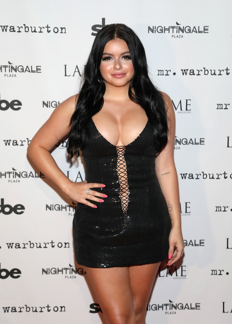 Ariel Winter Had The Smallest Of Nip Slips So Enjoy It-5434