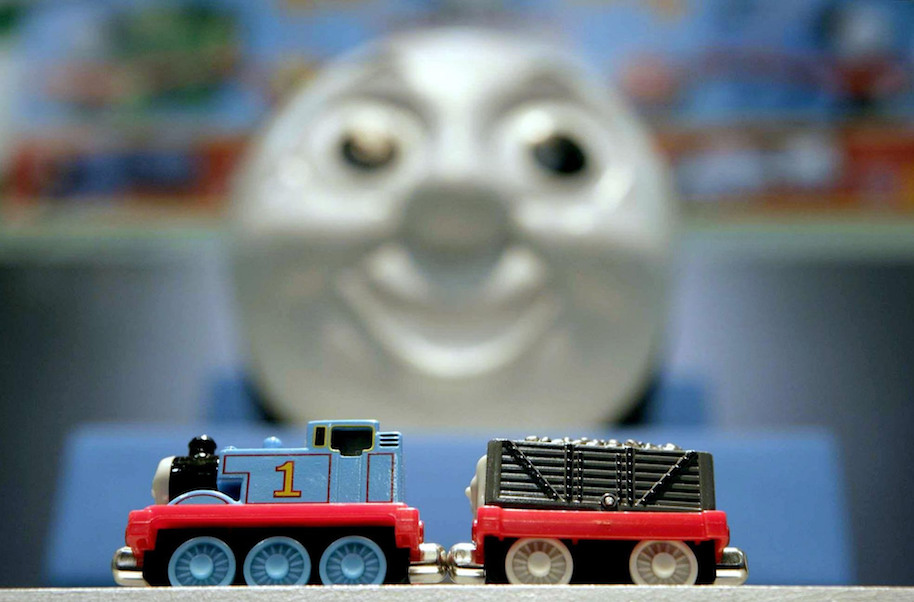 stunt video thomas the train, thomas the tank engine