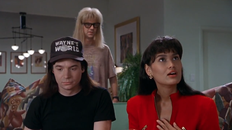 cassandra awful girlfriend wayne's world