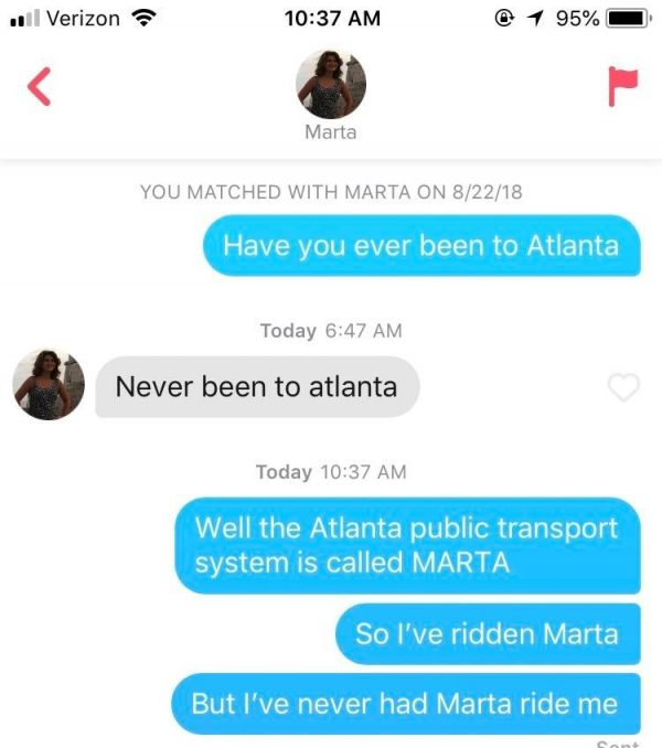 Dirty Tinder Exchanges Show How Dating Has Changed - Mandatory