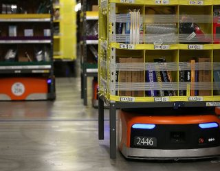 Amazon Robot Wants To Give People the Gift of Bear Repellent