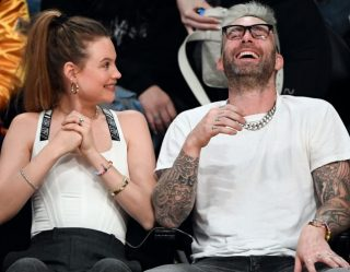 Adam Levine's Wife Says He's Getting Better With Age, Clearly Doesn't Go on Twitter Often