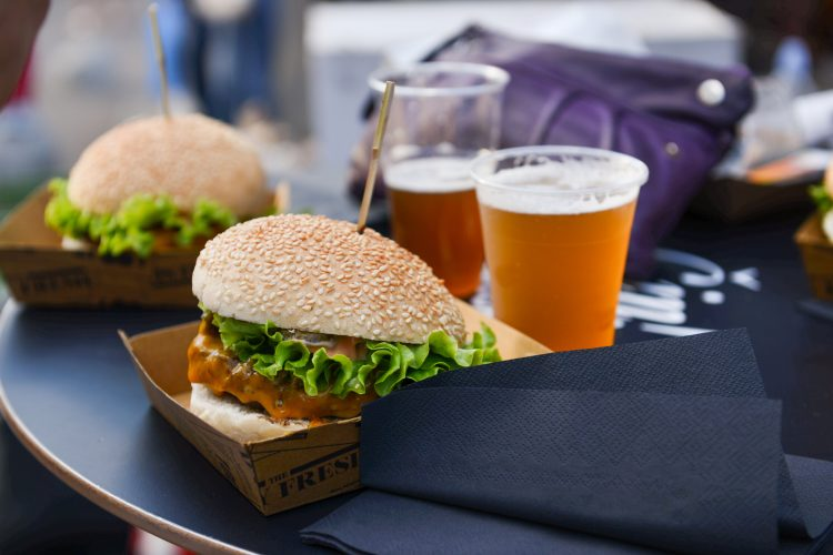 fast food beer pairings