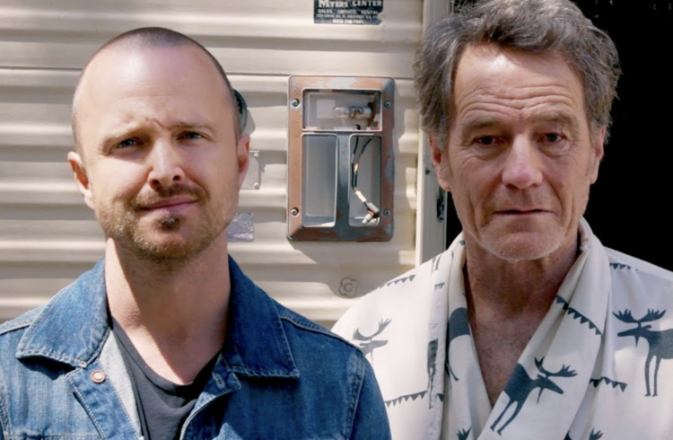 Aaron Paul and Bryan Cranston Ditch Blue Meth For Smoky