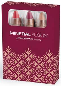Mineral Fusion's Holiday Lip Tints Kit
