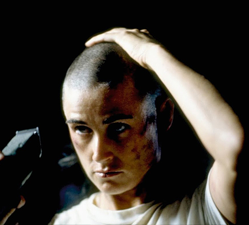 Worst Actress: Demi Moore in G.I. Jane