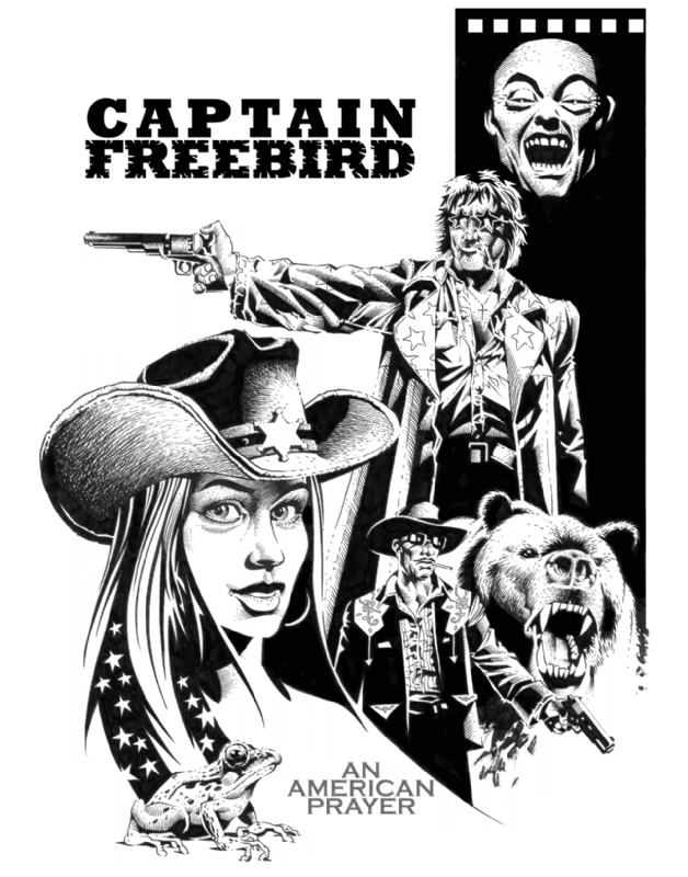 16. CAPTAIN FREEBIRD: AN AMERICAN PRAYER by The Fillbach Brothers