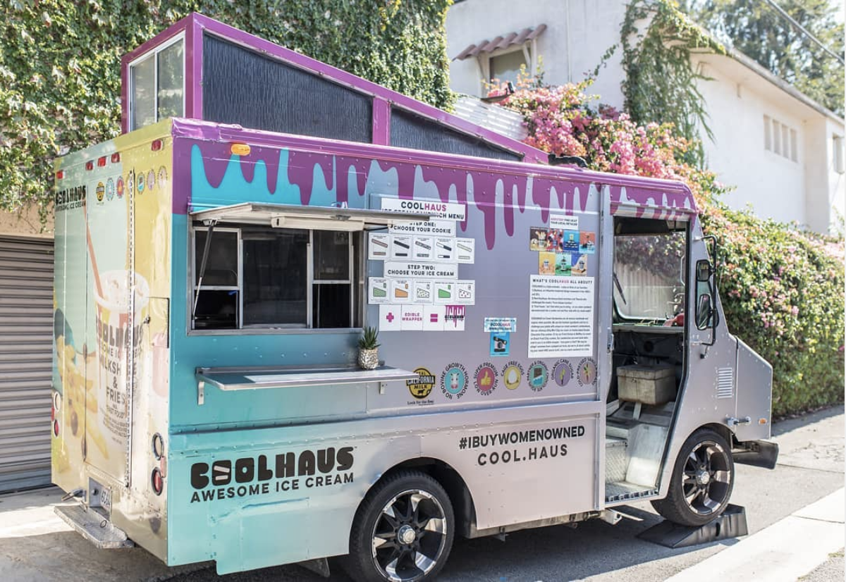Peet The Coolhaus Ice Cream Truck For 4/20