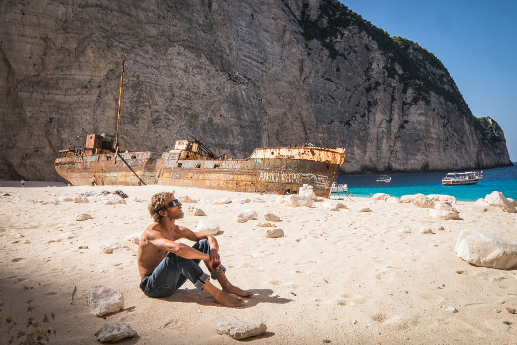 Navagio Beach: Greece